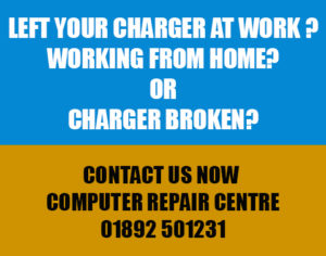 Laptop Chargers Tunbridge wells, Southborough and Tonbridge at Computer Repair Centre.